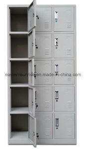 Cheap 15 Door Metal Steel Iron Clothe Locker/Wardrobe/Cabinet pictures & photos