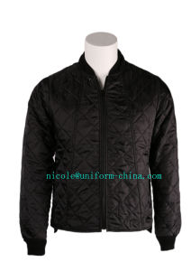 Mens Working Quilted Polyester Winter Warm Freezer Jacket pictures & photos