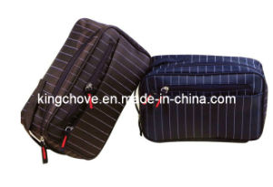 Nylon Grain Cosmetic Bag with Grains for Business Trip (KCC43) pictures & photos