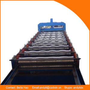 Glazed Roofing Tile Cold Roll Forming Machine for Building Roof pictures & photos