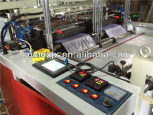 Heat Sealing and Heat Cutting Bag Making Machine Dfr Serial pictures & photos