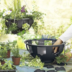 Professional High Quality Easy Fill Hanging Basket China Manufacturer pictures & photos