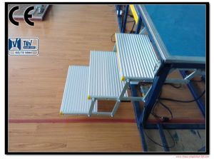 Electric Folding Aluminum Ladders and Folding Steps CE Certificate pictures & photos