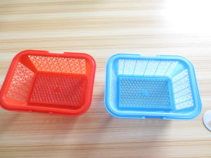 Customize Fruit Basket with Plastic Injection Mould pictures & photos