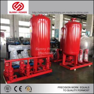 Diesel Water Pump for Fire Fighting with Pressure Tank pictures & photos
