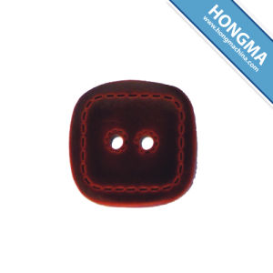 Imitation Leather Button 1903-0008