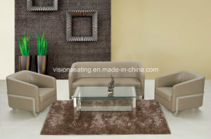Modern Leather Small Office Couch for Sale (9029) pictures & photos