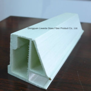 Customized Fiberglass Profile, FRP Plutruded Profile with Insulation for Construction pictures & photos