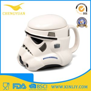 Mighty Ceramic Star Wars Tea Cup Coffee Mug with Lid pictures & photos