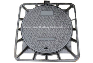 En124 D400 Circle Ductile Iron Manhole Cover