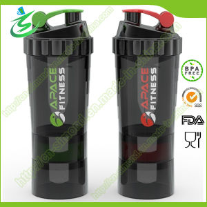 500ml BPA Free Spider Shaker Bottle for Pill Container pictures & photos