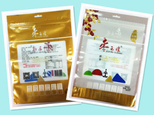 Plastic 3 Sides Seal Zipper Red Dates Packaging pictures & photos