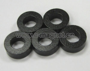 Black Epoxy Ring NdFeB Magnet pictures & photos