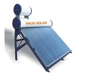 Color Painted Steel Solar Heater, 80L-500L pictures & photos