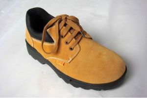 Workman Suede Leather Safety Shoes- Labour Protection Shoes