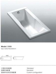 Elegant Deluxe Insert Jacuzzi Bathtub pictures & photos