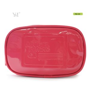 OEM Latest Custom Promotional Leather Cosmetic Makeup Lady Clutch Bag pictures & photos