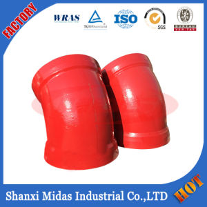 ISO2531 Ductile Cast Iron Di Long Radius Socket Weld Elbow Pipe Fitting pictures & photos