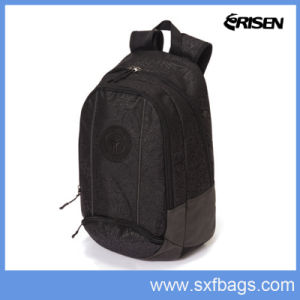 Black School Student Sports Traveling School Backpack pictures & photos
