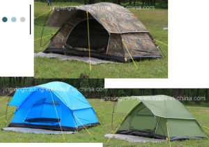 Hot Waterproof Polyester Camping Tent for 2 Persons (JX-CT021) pictures & photos