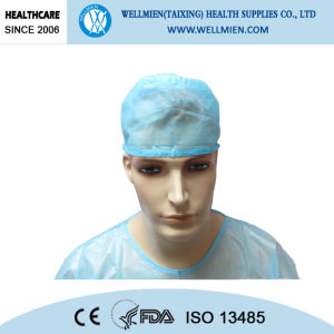 Disposable Nonwoven Doctor Cap Surgeon Cap Surgical Cap pictures & photos