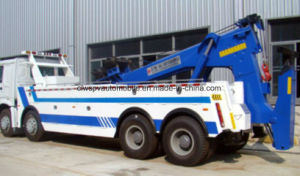 Shacman 8X4 Heavy Duty Road-Block Removal Truck pictures & photos