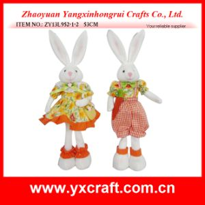 Easter Decoration (ZY13L952-1-2 53CM) Easter Type Plush Easter Bunny pictures & photos