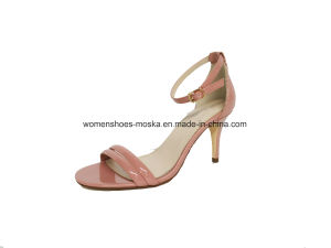 Lady Fashion Women High Heel Sandals with Peep Toe pictures & photos