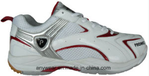 Table Tennis Shoes Indoor Badminton Court Footwear for Men and Women (815-5323) pictures & photos