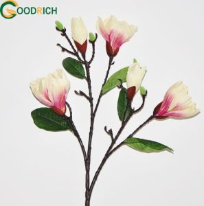 Real Touch Singe Stem Cymbidium Silk Flower