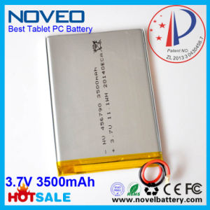 3.7V 3500mAh Lp-456790 12.95wh with PCB and Wire CE, UL, RoHS Approved Best Quality High Capactiy Tablet PC Battery-China Shenzhen Battery Manufacturer.