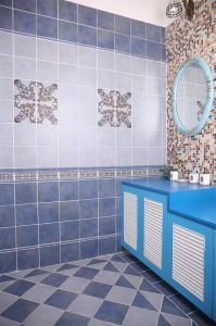 200X200mm Rustic Porcelain Ceramic Wall or Floor Tile/ Bathroom Tile (MS2012&MS2013)