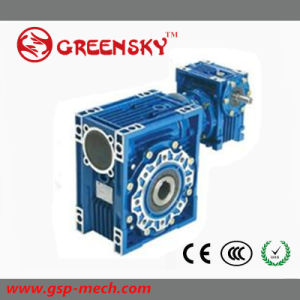 Nmrv Motovario Style High Torque Low Speed Rpm Right Angle Worm Gearbox pictures & photos
