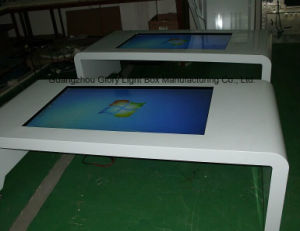High Definition Digital Interactive Touch Screen Table Screen Display pictures & photos