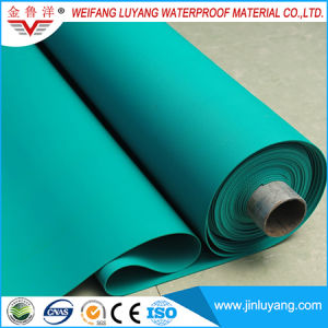 Polyester Reinforced PVC Roofing Membrane for Roof Garden pictures & photos