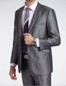 2button Silver Business Suits for Men (LJ-3121) pictures & photos