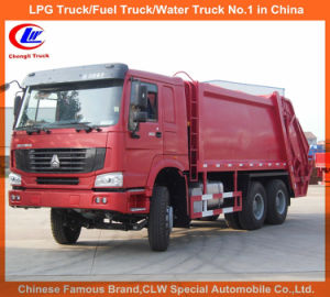 Heavy Duty HOWO 6X4 8tons 10tons Garbage Compactor Truck pictures & photos