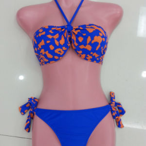 Ladies Leopard-Print Sexy Bikini, Swimwear