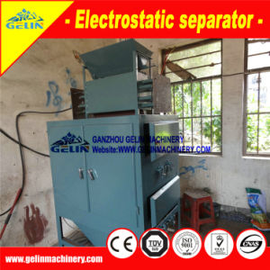 Electrostatic Separator Tin Mining Benefication Plant for River Sand Tin Ore in Indonesia pictures & photos