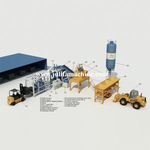 Full Automatic Concrete Brick/ Block Machine Production Line (QT10-15)