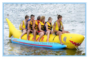 High Quality Flying Inflatable Banana Boat for Water Game (CY-530) pictures & photos