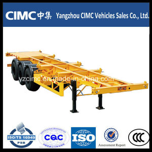 Container Chassis, 40FT Skeleton Trailer, Cimc Container Chassis Trailer pictures & photos