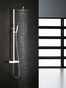 Square Shape Thermostatic Shower Mixer Shower Faucet pictures & photos