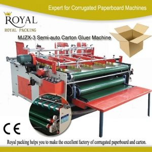 High Quality China Semi Automatic Folder Gluer for (MJZX-3) pictures & photos