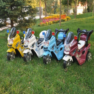 China Children Battery Motor Bike with Big Basket for Sale pictures & photos