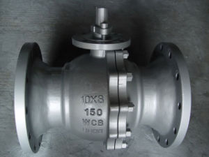 API 6D Cast Steel Floating Ball Valve (Reduced Port)