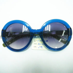 Custom Logo Fashion Wholesale Round Frame UV400 Sunglasses pictures & photos