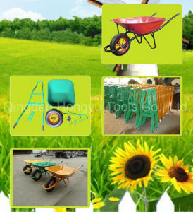 "15"" Solid Wheel France Model Wheel Barrow/Wheelbarrow pictures & photos"