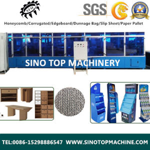 Corrugated Honeycomb Cardboard Making Machine for Building Material pictures & photos