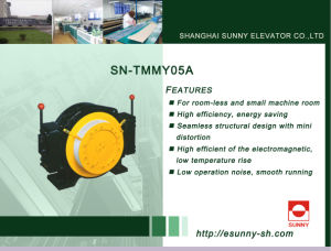 High Quality Lift Traction Machine (SN-TMMY05A) pictures & photos